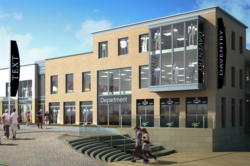 Daventry: retail plans approved