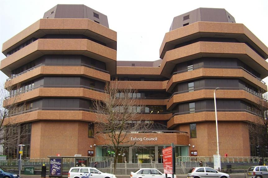 Ealing Council offices. Pic: Cjb, Wikimedia Commons