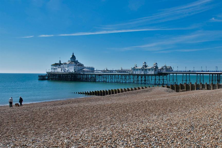 Eastbourne: Nearly 14 per cent of major district-level decisions overturned in two years. Image: Flickr / Berit Watkin