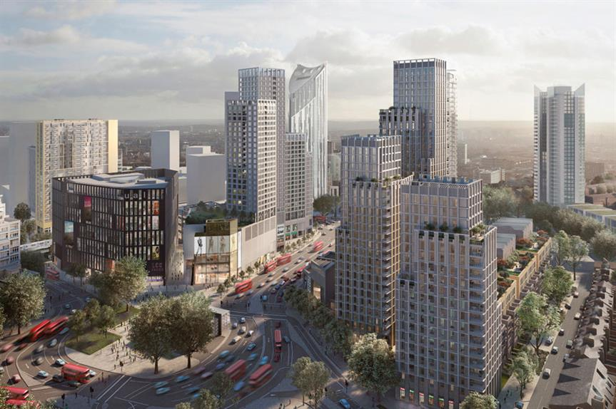 A visualisation of the finished Elephant and Castle redevelopment