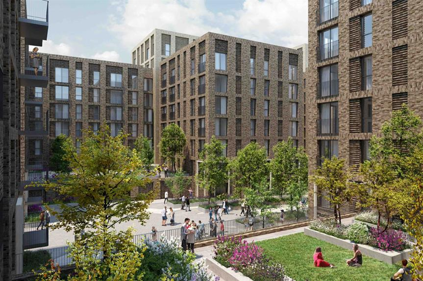 A visualisation of the Salford proposals. (Pic: Eutopia Homes)