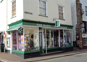 The Harbour Bookshop, Dartmouth (pic courtesy Jim Linwood via Flickr)