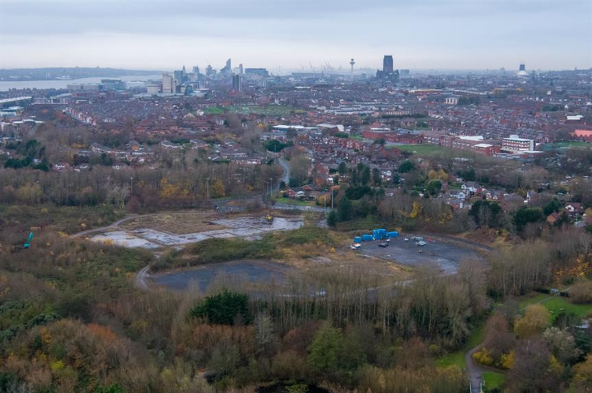 The Festival Gardens site, Liverpool. Image: Liverpool City Council