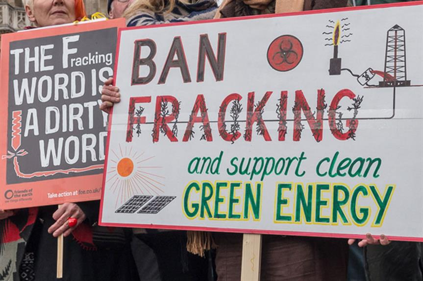 Fracking: process has proved controversial