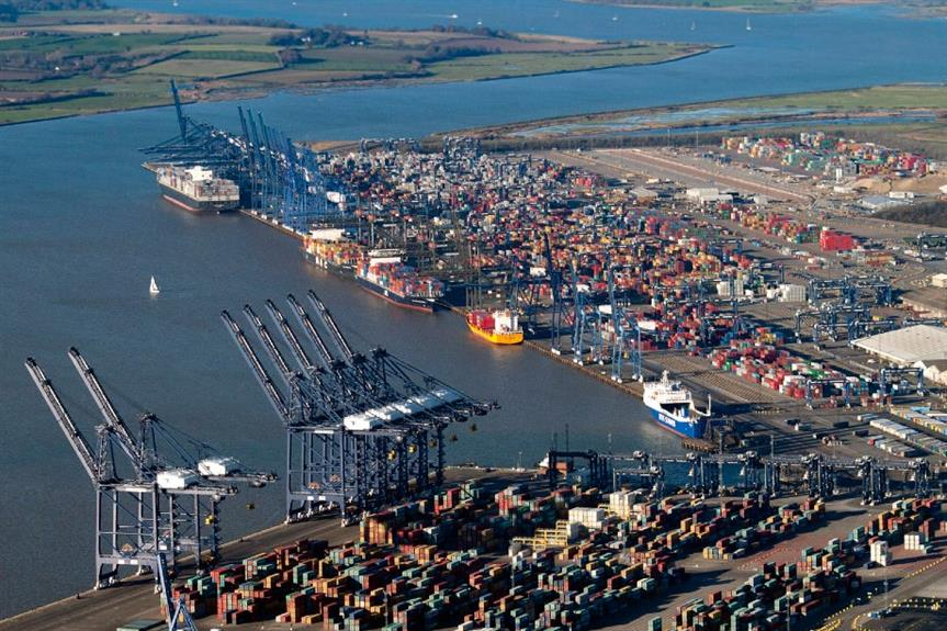 The port of Felixtowe is among the freeports announced - image: John Fielding (CC BY-SA 2.0)
