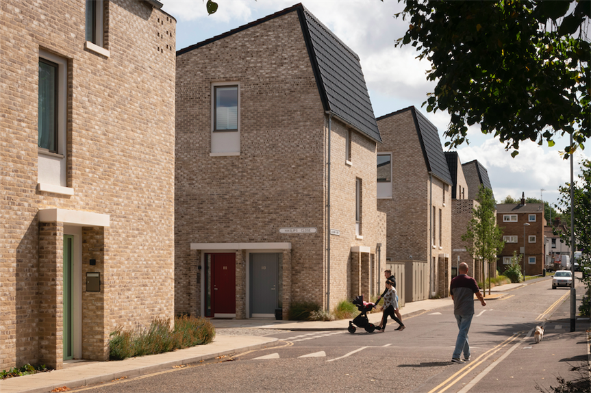 Goldsmith Street in Norwich, which won the RIBA Stirling Prize 2019 (Pic: Getty)