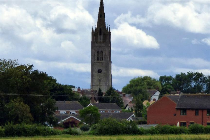 Hanslope (pic: Peter O'Connor, Flikcr)