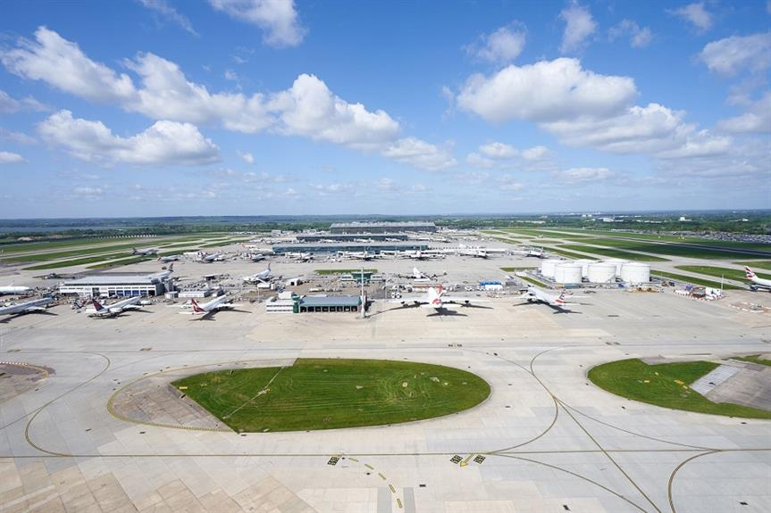 Heathrow Airport. Pic: Heathrow Airport