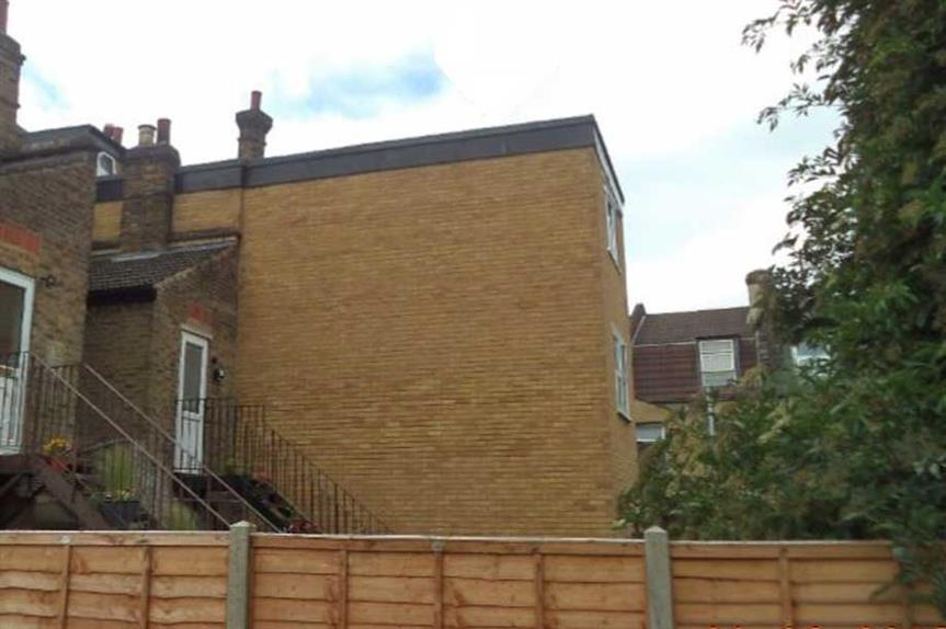 The illegal extension built by Mohammed Raja Iqbal (pic: LB Waltham Forest)