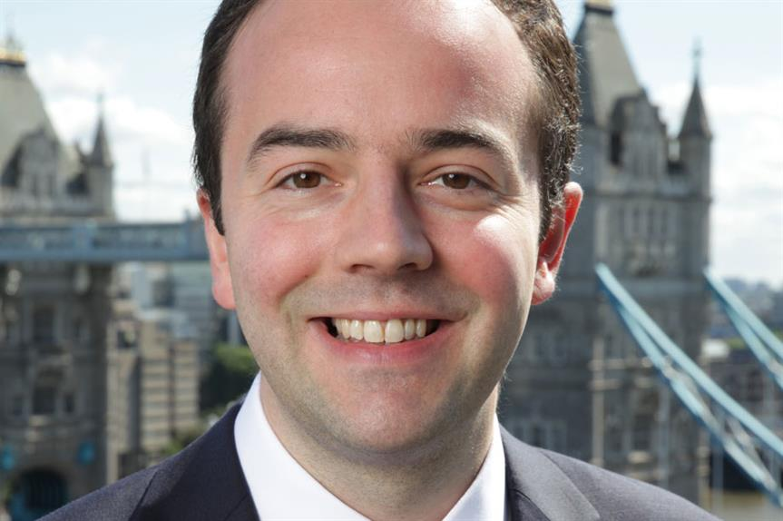London deputy mayor for housing James Murray