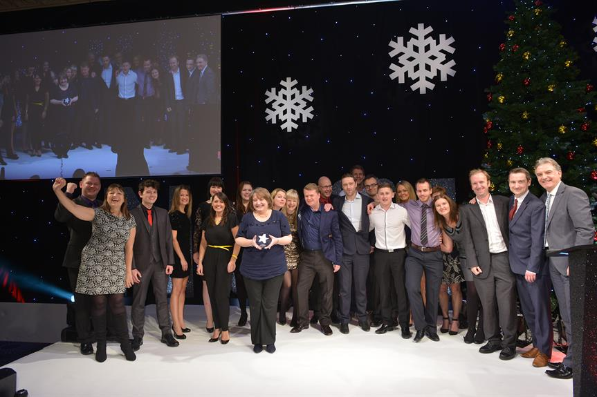 Planning and DCS at our recent company awards