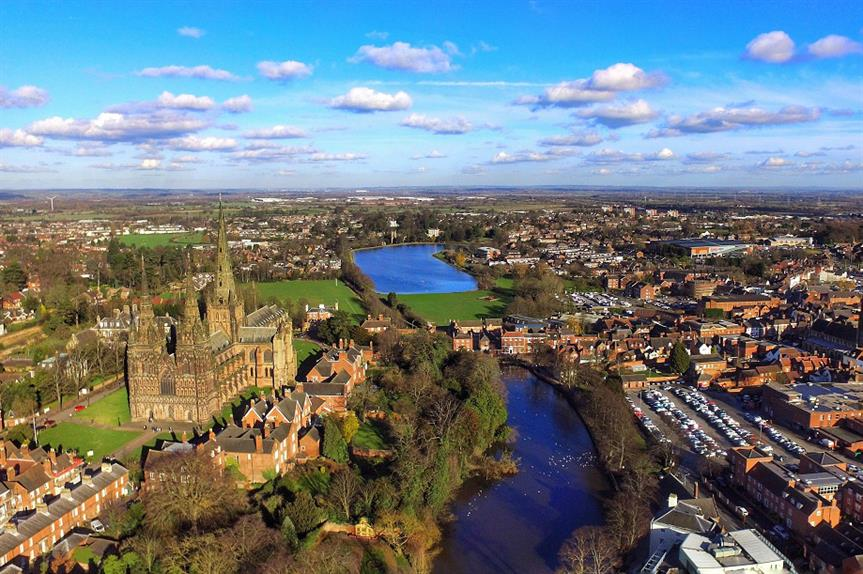Lichfield, Staffordshire. Pic: Getty Images