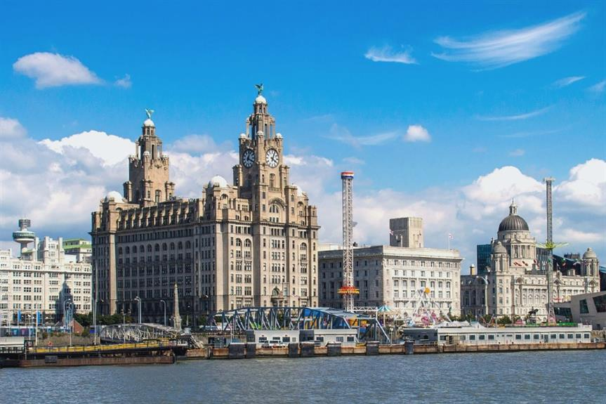 """Liverpool's """"Three Graces"""" including the city council's Cunard Building - image: wakeyfan (Pixabay licence)"""