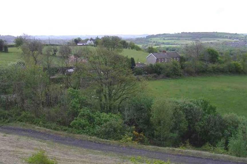 Countryside near Llantwit Fardre (pic: Roger Cornfoot via Georaph)
