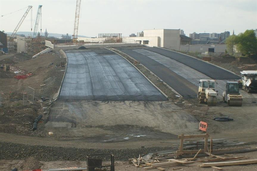 Road building supported to unlock housing - image: Alan Murray-Walsh / geograph (CC BY-SA 2.0)