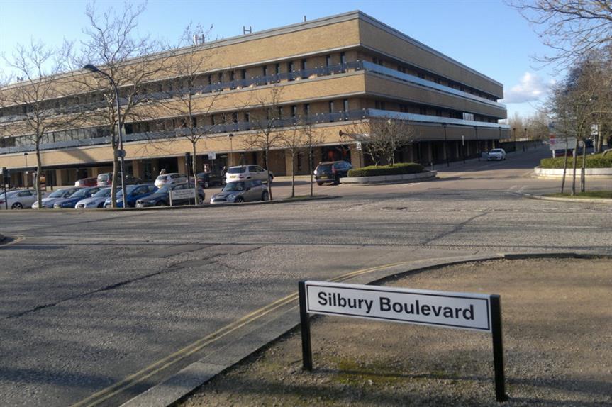 Milton Keynes Council. Image: Geograph / Steven Haslington