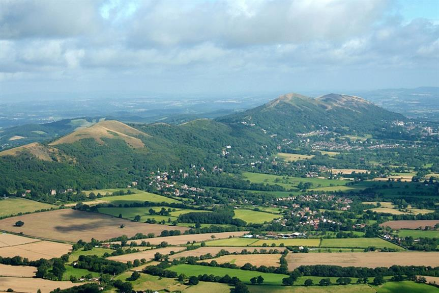 The Malvern Hills, a candidate to be among Defra's new national parks - image: David Martyn Hunt / Flickr (CC BY 2.0)