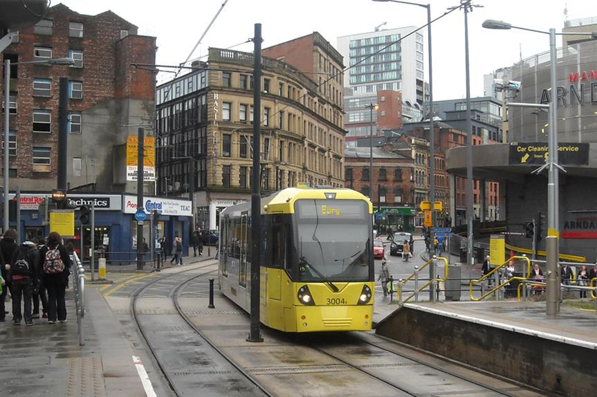 A Greater Manchester tram. Pic: Gene Hunt, Flickr