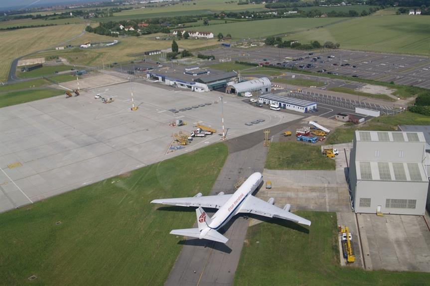 Manston Airport: trigger for local plan rejection. Pic: James Steward, Wikipedia