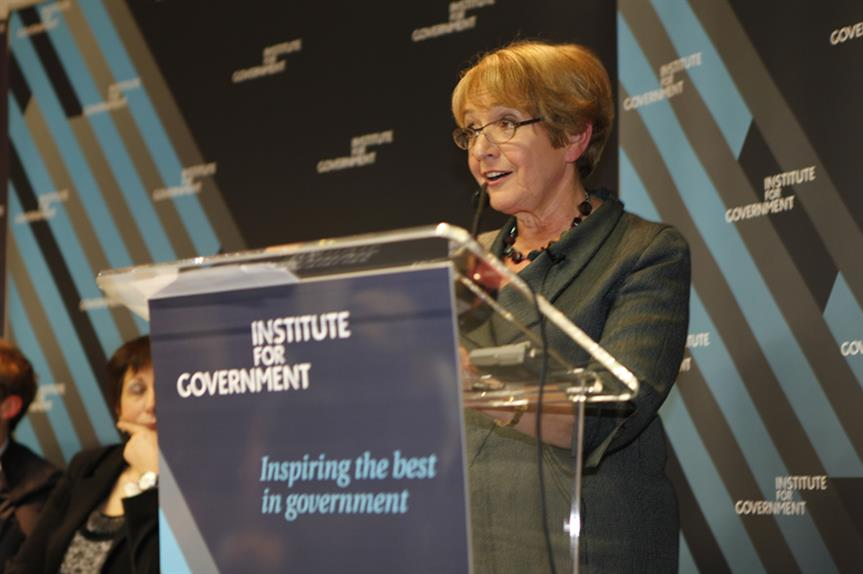 Margaret Hodge MP, chair of the Commons Public Accounts Committee