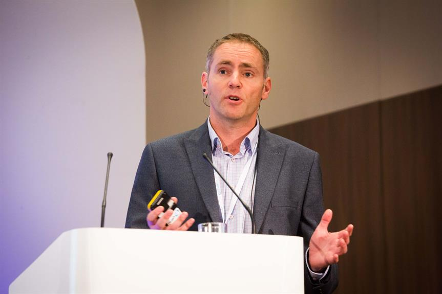 Andy Meader of Pegasus Group speaking at yesterday's Planning for Housing conference