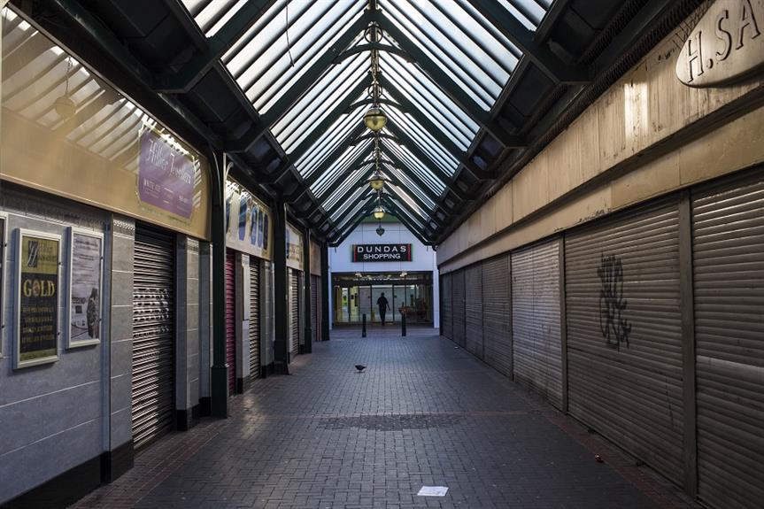 Dundas Shopping Centre in Middlesborough town centre. Pic: Getty Images