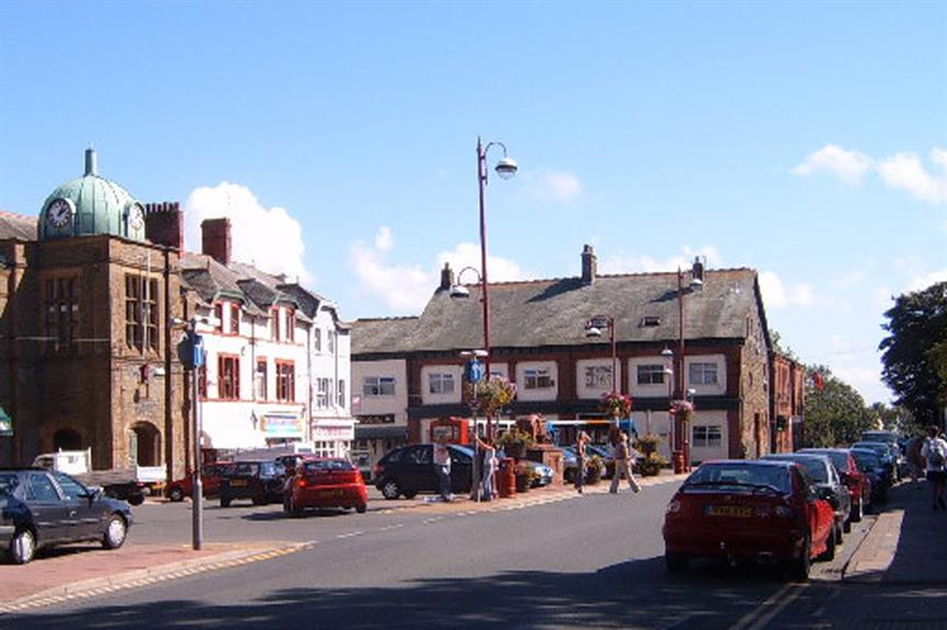 Millom Market Square (pic SIMON PHILLIPS, Geograph)