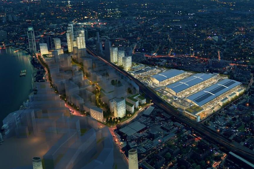 New Covent Garden: plans include up to 3,000 homes