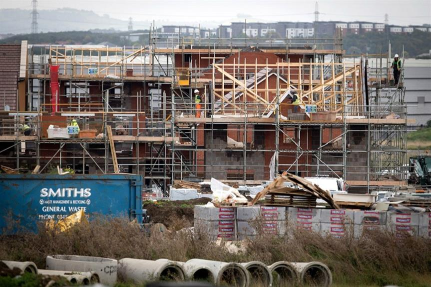 New housing in Bristol. Pic: Getty Images