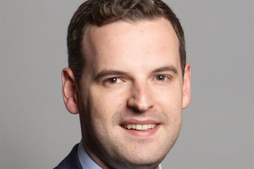 Paul Holmes MP (official parliamentary portrait)