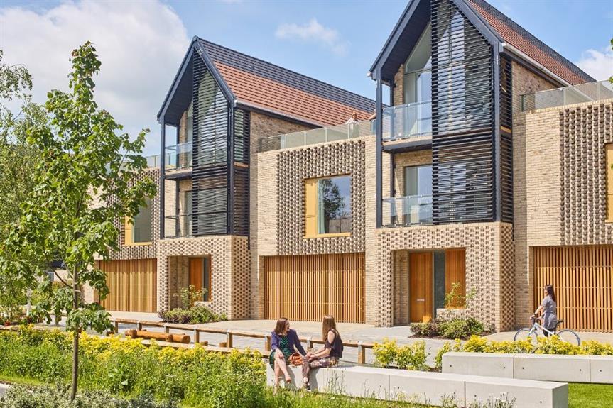 Great Kneighton, Cambridge - winner of Award for best housing scheme (500 homes or more)