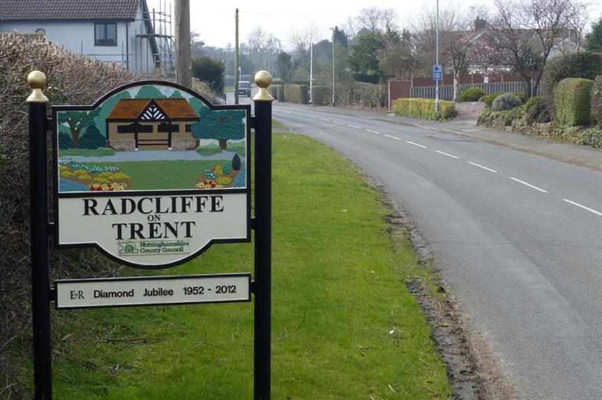 Radcliffe-on-Trent: 400 homes approved (pic: Mat Fascione via Geograph)