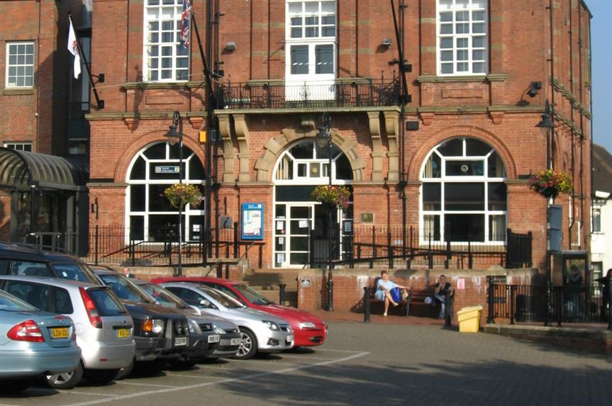 Amber Valley Borough Council. Image: Dave Bevis / Geograph
