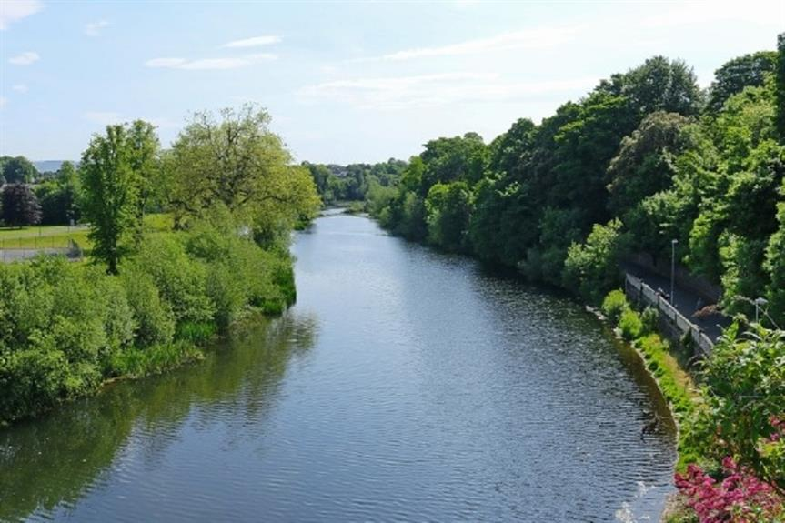 Protected area: the River Nore, Ireland. Pic: Robert Lindsell, Wikipedia
