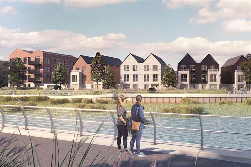 Rochester Riverside: 1,400-home development