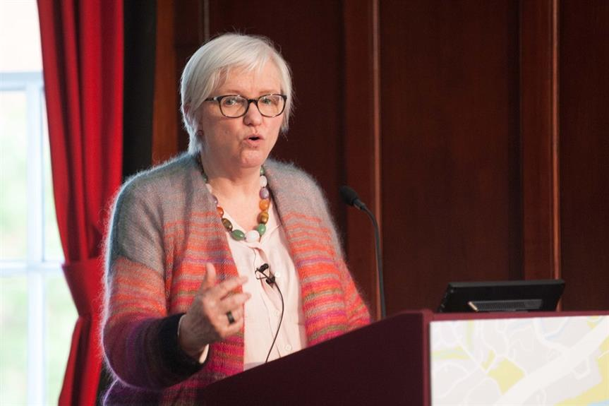 Bridget Rosewell speaking at today's National Planning Summit. Pic: Nathan Clarke
