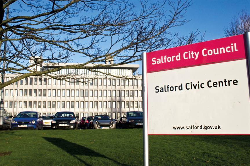 Salford: council first refused plans in April 2013
