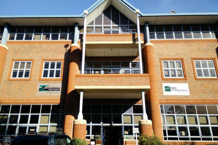 South Oxfordshire District Council's offices. Image: South Oxfordshire District Council