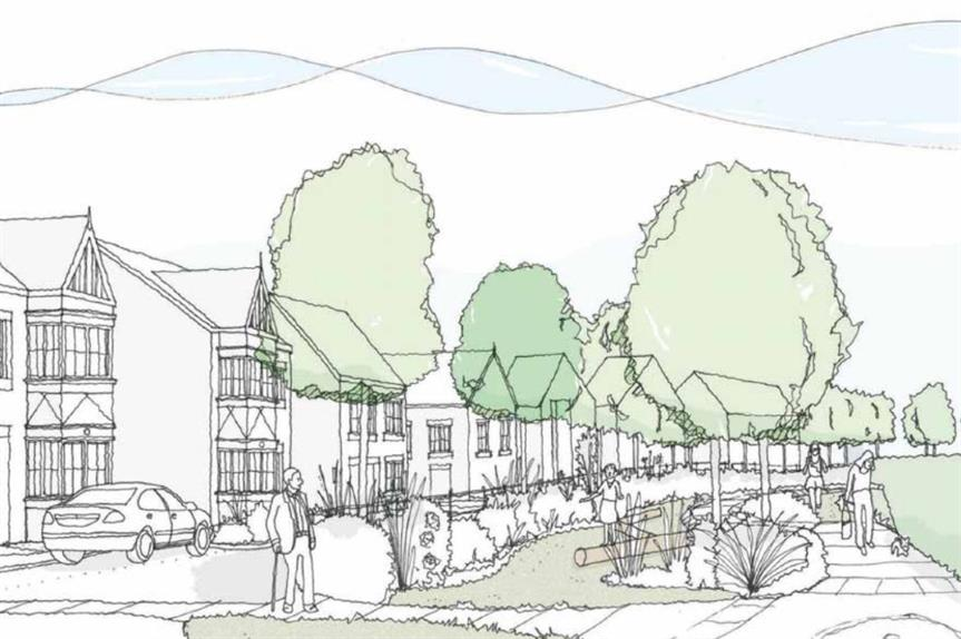 An artist's impression of the proposals (Image: The Seashell Trust)
