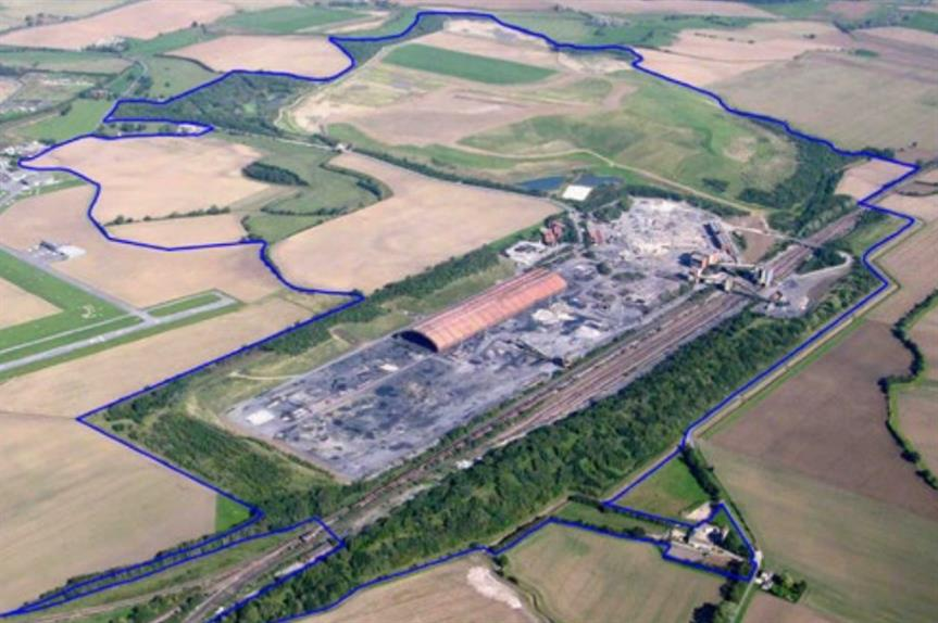 The site of the proposed development (Image: Harworth Group)