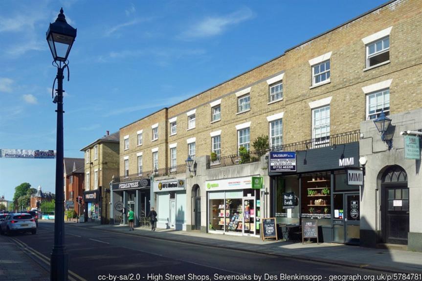 Sevenoaks, Kent. Pic: Des Blenkinsopp, Geograph.org.uk