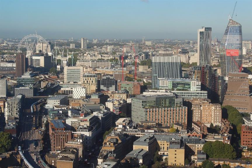 Inner south London from The Shard - image: Pixabay / Salvo Baglieri (free re-use)