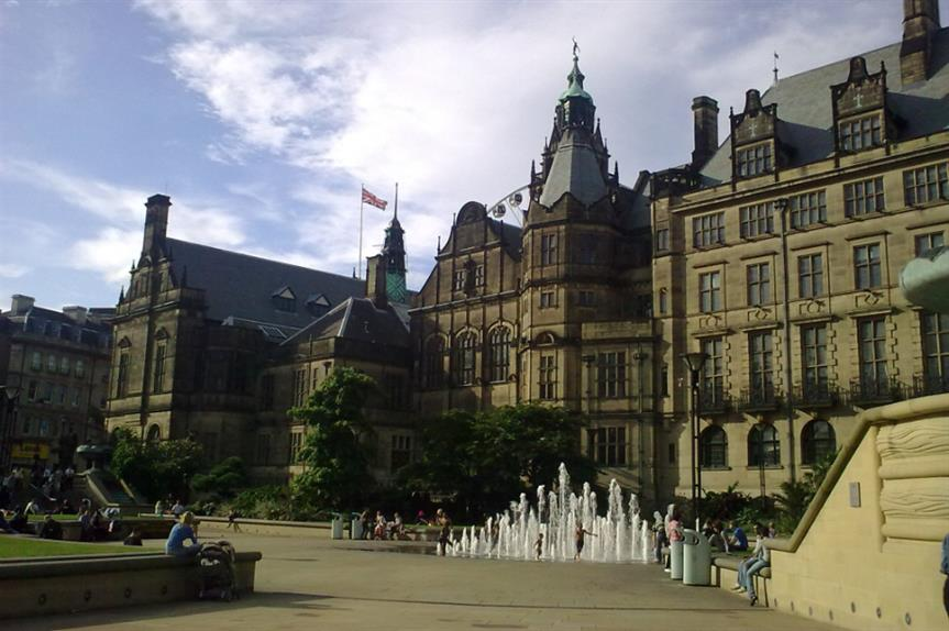 Sheffield Town Hall. Image: Wikimedia