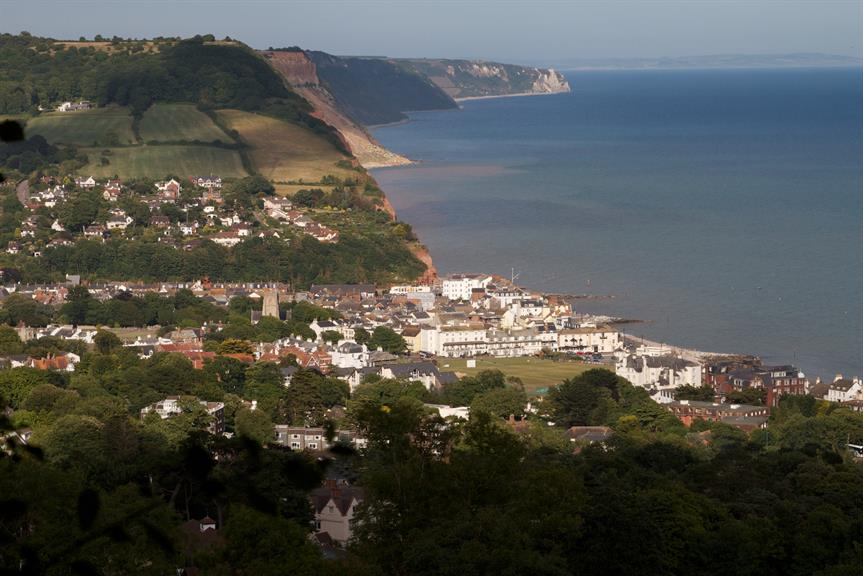 Sidmouth: Sid Valley plan becomes the 17th to be made in East Devon. Pic: Ian Paine