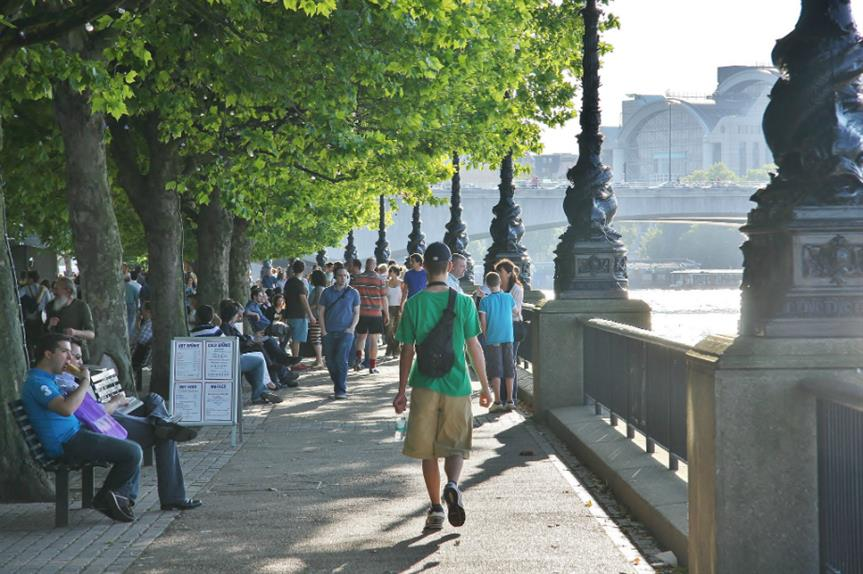 London's South Bank: cross-boundary neighbourhood plan adopted (Image: Flickr / Adrian Scottow)
