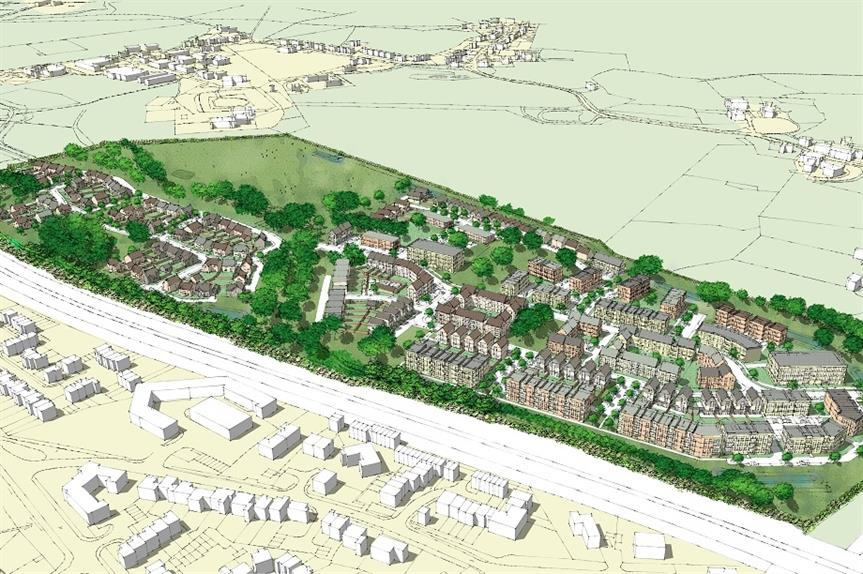 A visualisation of the plans for the redevelopment of the Oxford Brookes campus. Pic: Avison Young