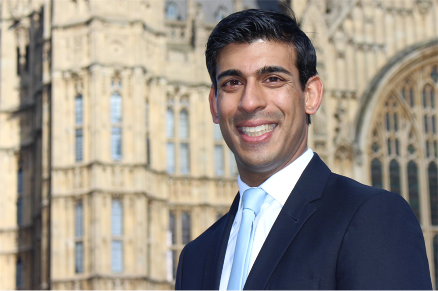 Rishi Sunak: Chancellor confirms planning white paper timetable as part of Plan for Jobs. Image: Flickr / MHCLG