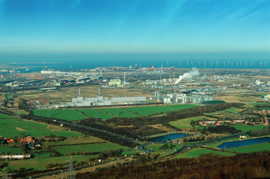An artist's impression of plans for the Tees Combined Cycle Power Plant (pic: Sembcorp)