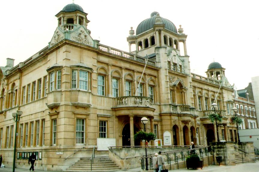 Redbridge town hall: the borough has issued 221 CIL liability notices since early last year
