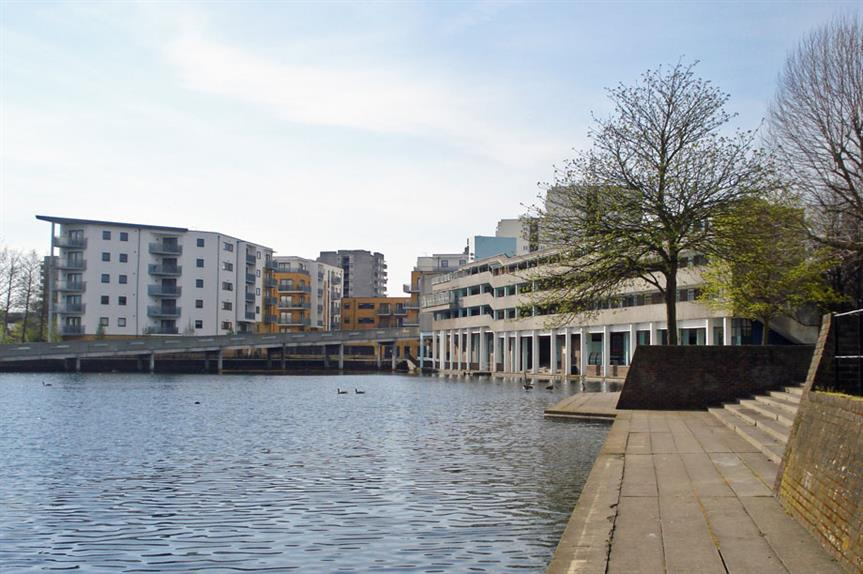 Thamesmead: area included in masterplan